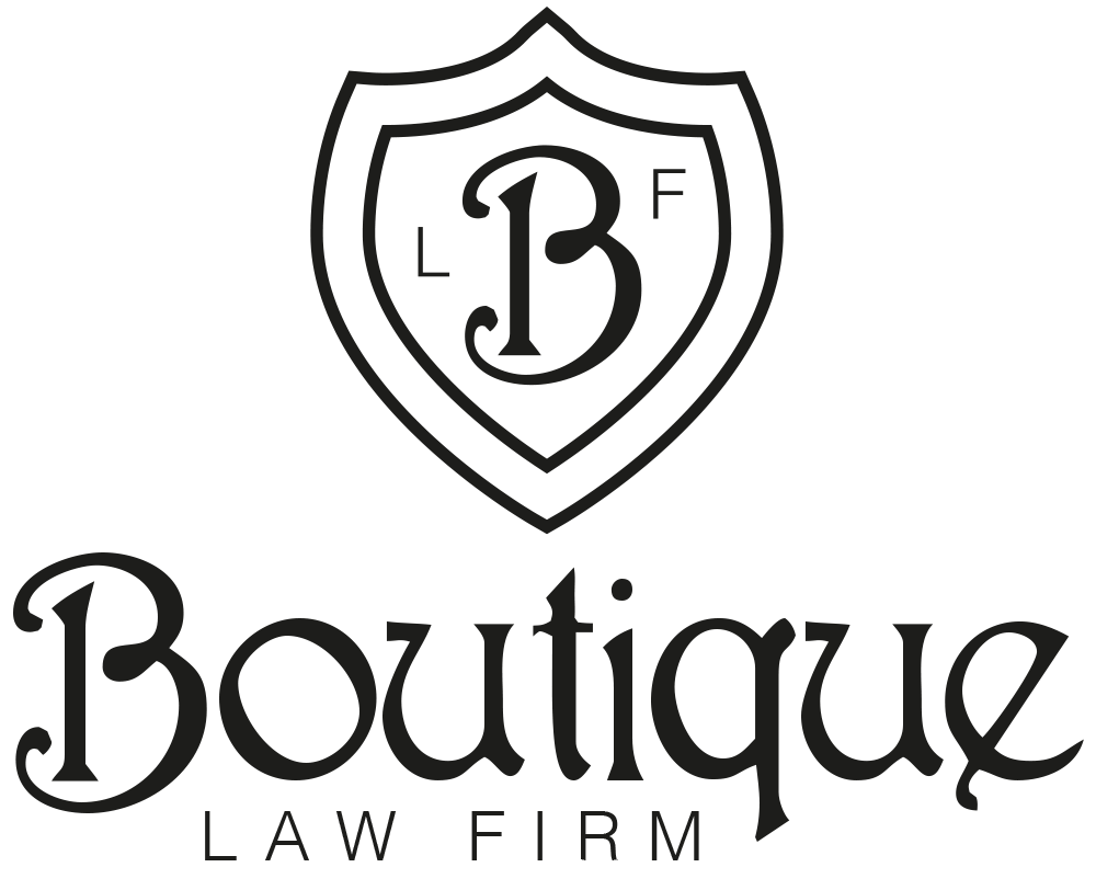 Boutique Law Firm stamp